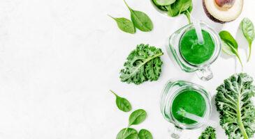 Gesunde Nahrung zum Körper entgiften