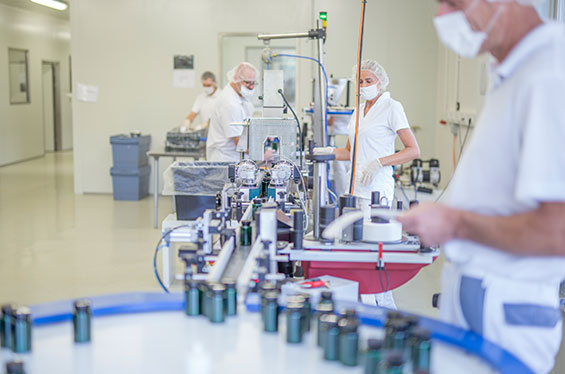 Neues Firmengebäude für die Herstellung von Nahrungsergänzungsmitteln