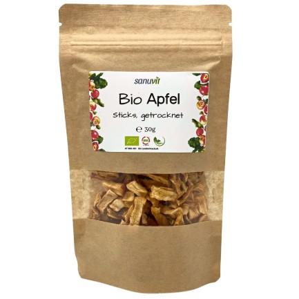 BIO Apfel Sticks getrocknet, 7 x 30g